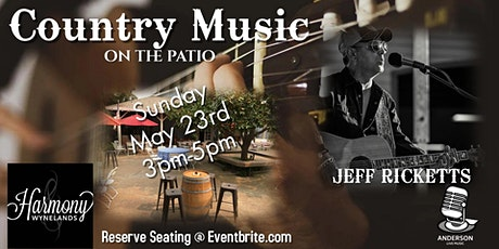 Jeff Ricketts Acoustic - Live Music on the Patio tickets