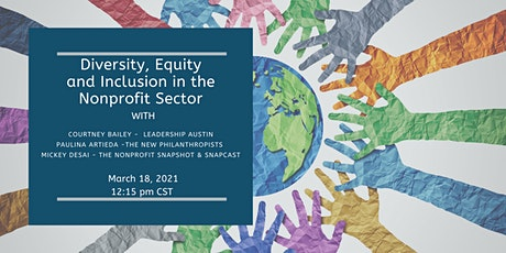 Diversity, Equity and Inclusion in the Nonprofit Sector tickets