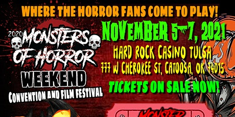 Monsters of Horror Weekend tickets