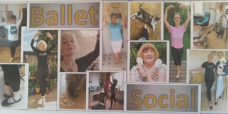 Ballet Social Wednesday (Adult ballet class for everyone) tickets