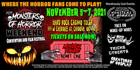 Monsters of Horror Weekend  Vendor Tables tickets