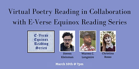 Virtual Poetry Reading in Collaboration with E-Verse Equinox Reading Series tickets
