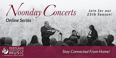 Titus Abbott | Noonday Concert Series Online tickets