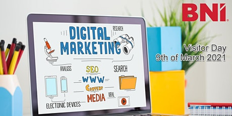 Digital Marketing & Social Media Professionals Visitor Day @ BNI Riverside tickets