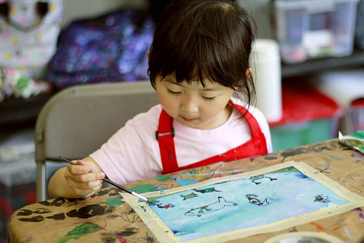 March Break LIVE Virtual Art Camp - Watercolour Painting 5+ image