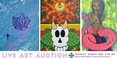 Live Stream Art Auction tickets