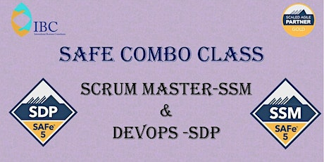 SAFe Combo - Scrum Master 5.0 and DevOps 5.0   - Remote class tickets