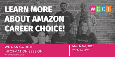 We Can Code IT  Amazon Career Choice Info Session tickets