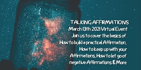 Talking Affirmations tickets