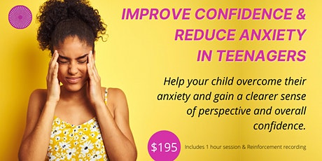 Relieve & Manage Stress & Anxiety Hypnotherapy - For Teenagers-Palmerston N tickets