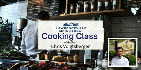 Cooking class with Acacia Chef: Chris Voigtsberger tickets