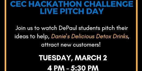 LIVE PITCH DAY: CEC Hackathon Challenge tickets