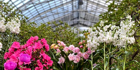 Virtual Tour of Spring Flower Show: Saturation tickets
