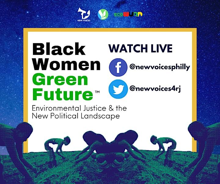 Black Women, Green Future: Enviro Justice & the New Political Landscape image