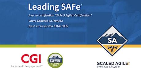 Leading SAFe® (5.0) en français billets