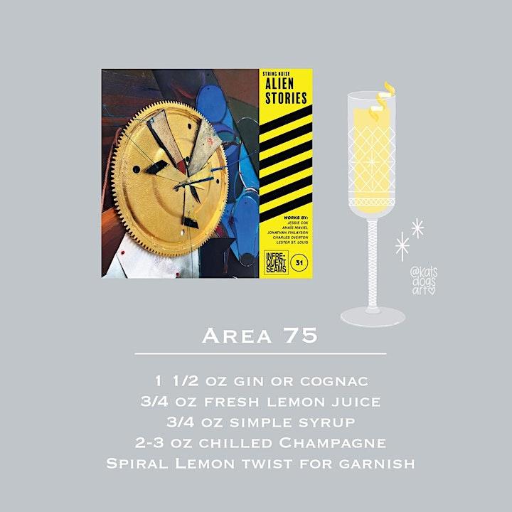 String Noise: Triple Album Release Happy Hour w Greg Saunier from Deerhoof image