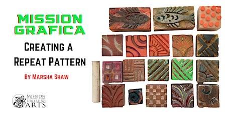 Mission Grafica: Creating a Repeat Pattern biglietti