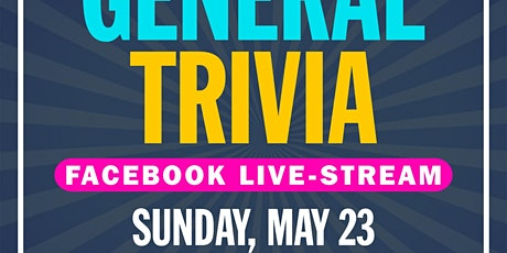 General Knowledge Trivia Live-Stream tickets