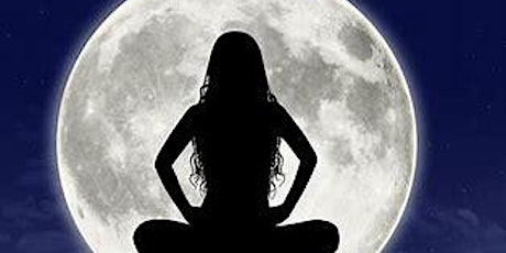 """Full Moon Meditation and Yoga """"WINE"""" down with Cook Chiropractic tickets"""