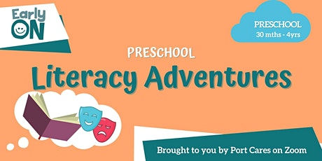 Preschool Literacy Adventures - Let's Make Our Story tickets