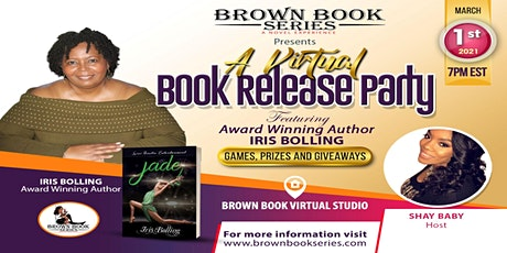 A Virtual Book Release Party with Award Winning Author  Iris Bolling tickets
