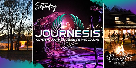SATURDAY: Journey, Genesis, and Phil Collins Covered by Journesis! tickets