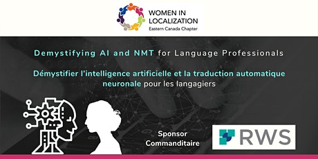 WLEC: Demystifying AI and NMT for Language Professionals - Register tickets