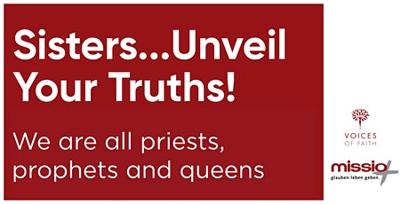 International Women's Day 2021 - Sisters...Unveil Your Truths tickets