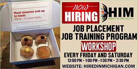 Job Placement and Job Training Program Workshop tickets