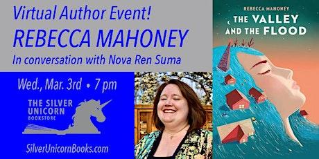 Virtual YA Author Event! Rebecca Mahoney in Conversation with Nova Ren Suma tickets