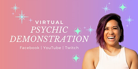 Virtual Psychic Demonstration tickets