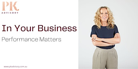 In YOUR Business | Performance Matters tickets