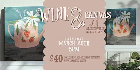WINE & CANVAS tickets