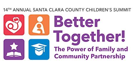 2021 Santa Clara County Children's Summit entradas
