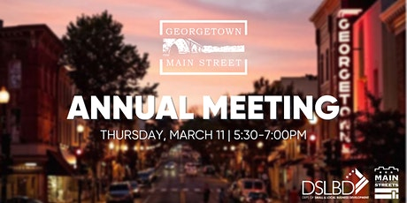 Georgetown Main Street Annual Meeting tickets