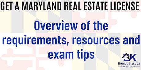 Exam Prep: Maryland Real Estate License Exam tickets
