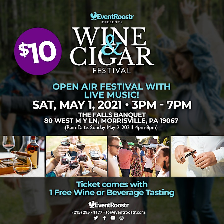 Wine and Cigar Festival image