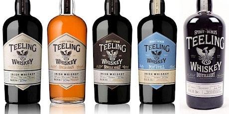 Teeling Irish Whiskey Hybrid Tasting tickets
