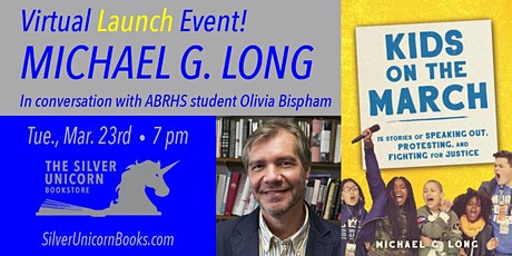 Virtual Book Launch! Michael Long with ABRHS Student Olivia Bispham! tickets