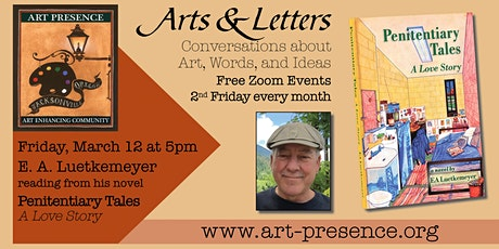 "E.A. Luetkemeyer reads from his novel ""Penitentiary Tales: A Love Story"" tickets"