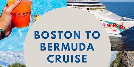Virtual Cruise Night:  2022 Summer Boston to Bermuda NCL Cruise tickets