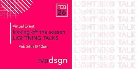 February Lightning Talks tickets