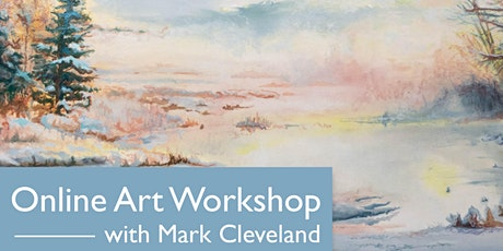 Online Art Workshop with Mark Cleveland tickets