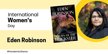International Women's Day: Eden Robinson in conversation with Karen McBride tickets