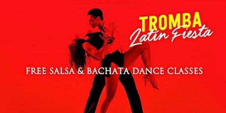 Tromba Latin Fiesta Free Salsa & Bachata Classes tickets