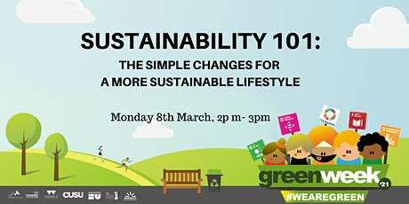 Sustainability 101 tickets