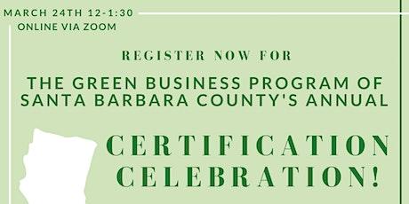 Green Business Certification Celebration! tickets
