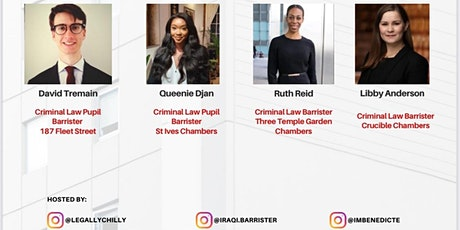 Pupillage Interviews The Series : Criminal Law tickets