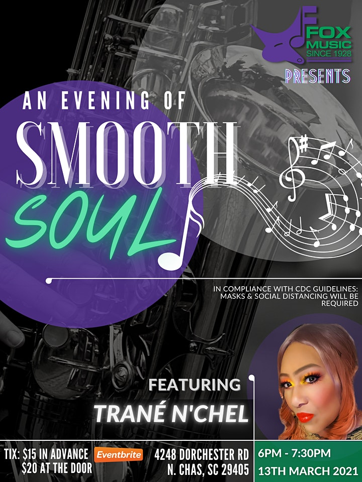 An Evening of Smooth Soul with Trané N'Chel image