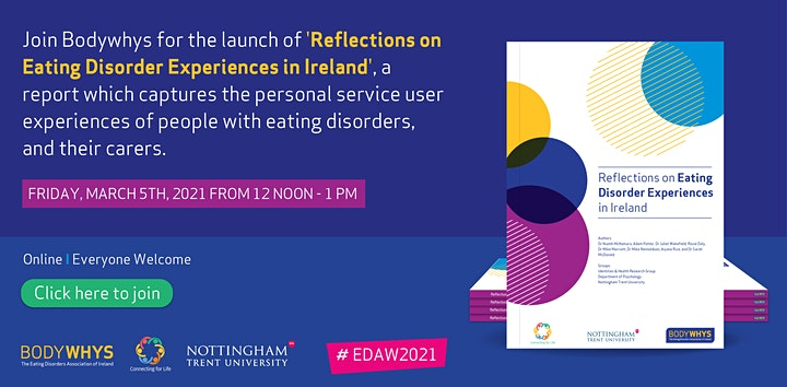 Bodywhys Launch 'Reflections on Eating Disorder Experiences in Ireland' image
